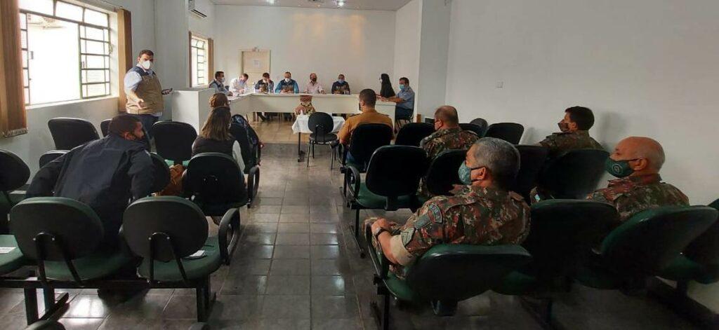 Bonito recebe Comissão de Controle Sanitário de MS para pactuar ações de combate ao coronavírus