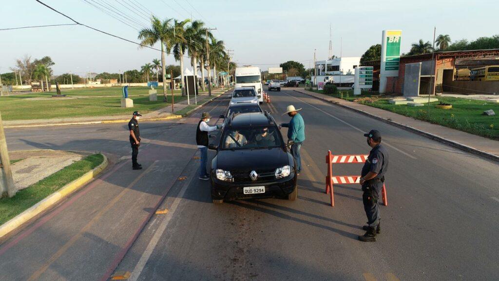Durante feriado 10,9 mil pessoas passaram por barreira sanitária em Bonito