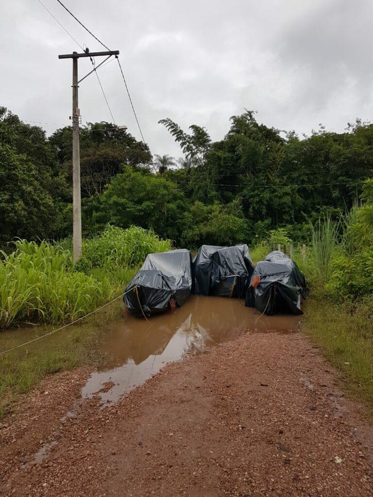 Governo de Bonito acompanha situação de enchente no Distrito Águas do Miranda