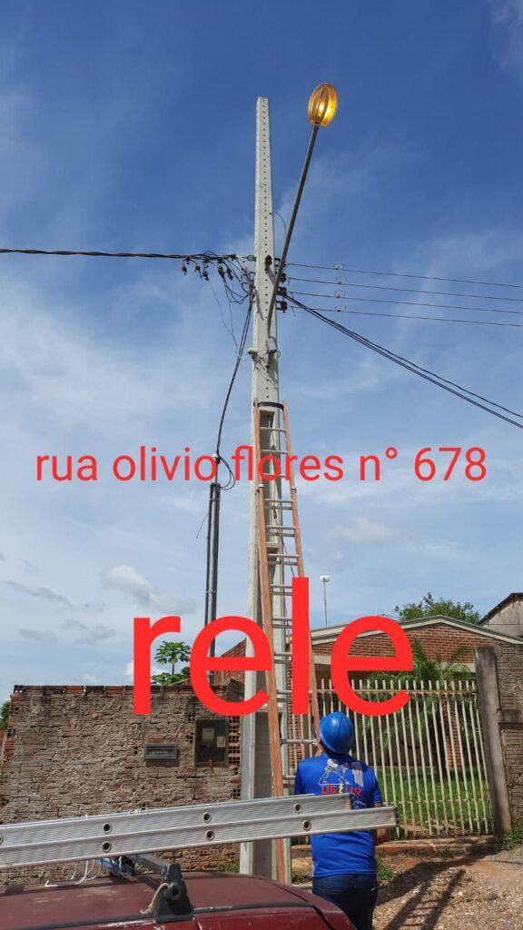 Prefeitura realiza recuperação de mais de 375 pontos de iluminação pública no município