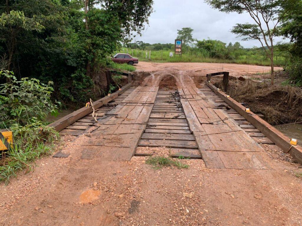 Ponte localizada na Vila Marambaia está liberada