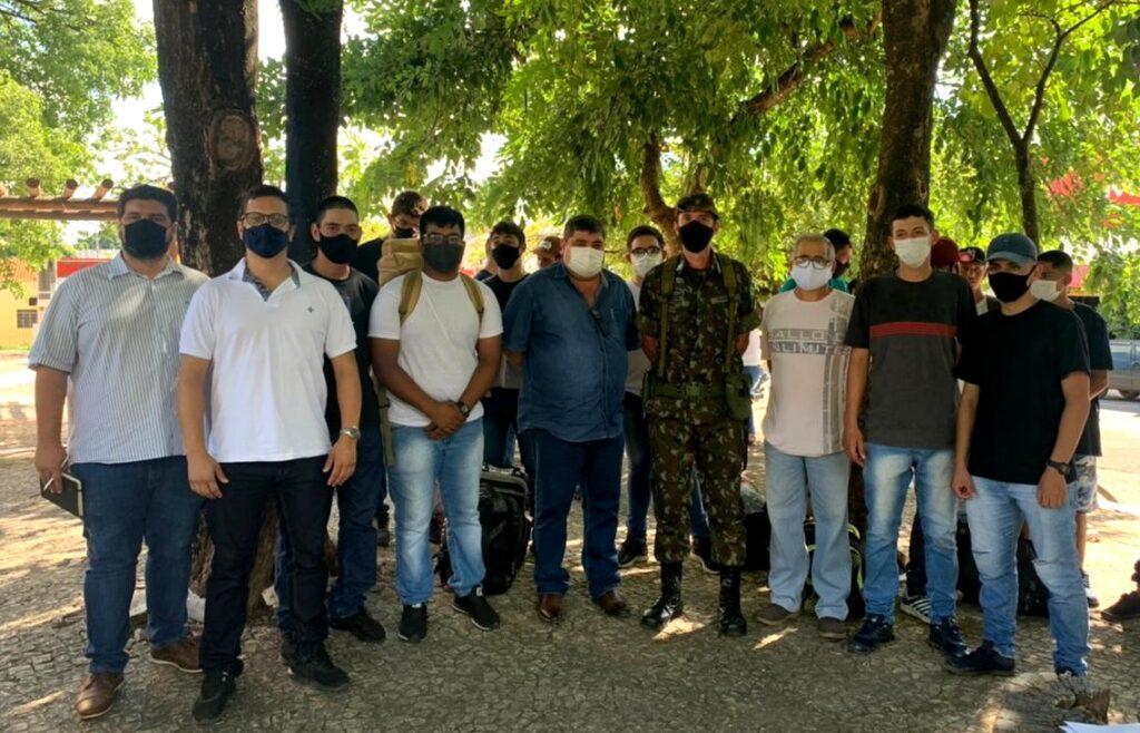 16 jovens de Bonito foram designados a servir o serviço militar