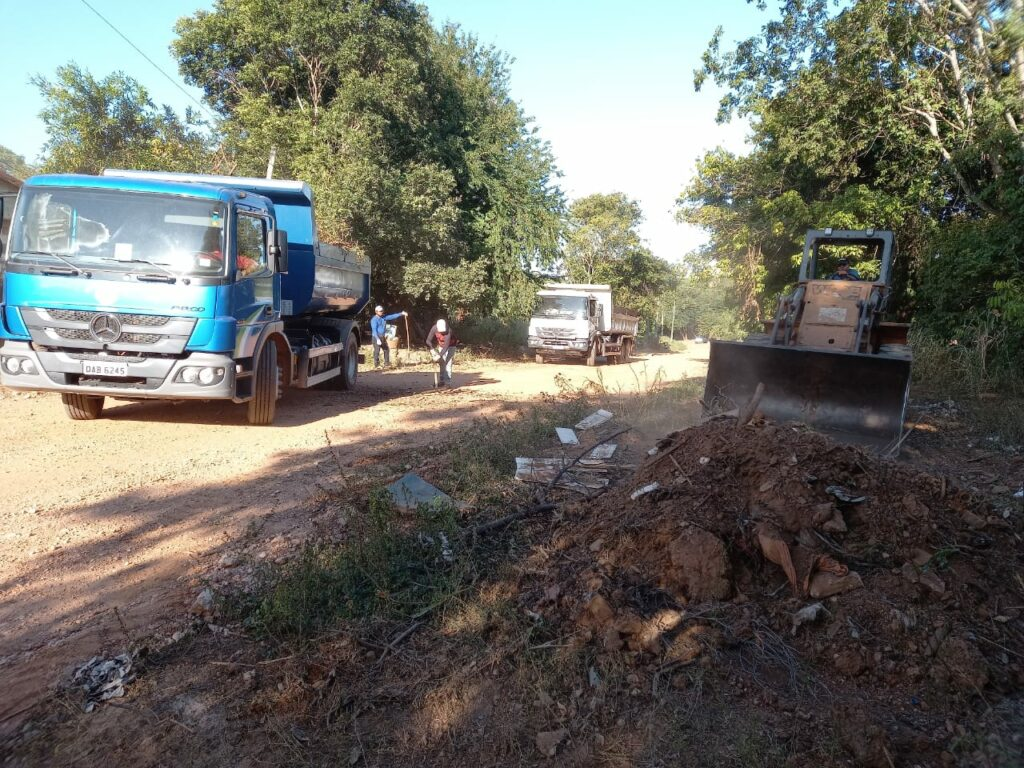 Mutirão de limpeza e outras ações são realizados na área urbana e nos assentamentos