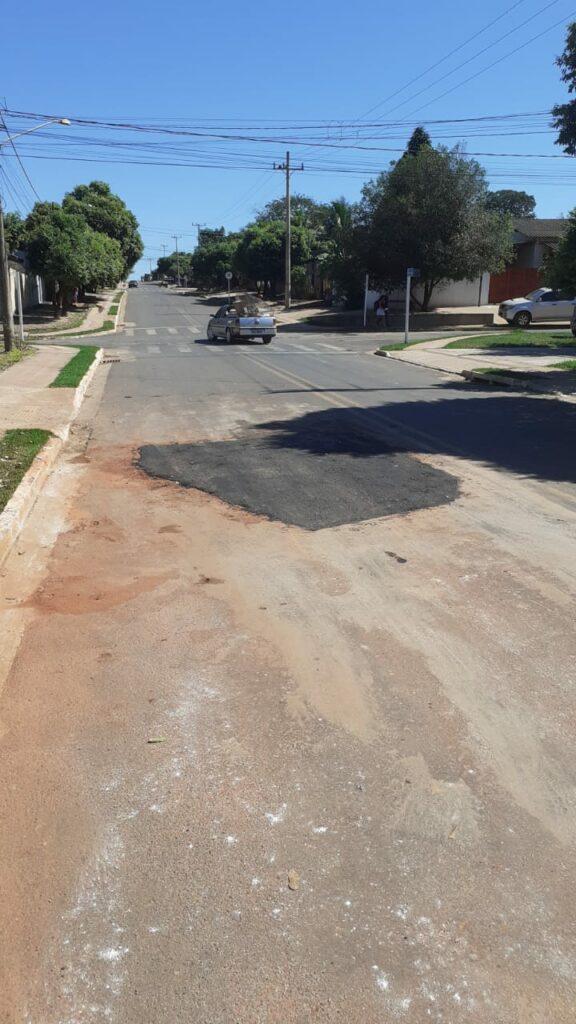 Secretaria de Obras inicia operação de tapa-buraco em ruas do município