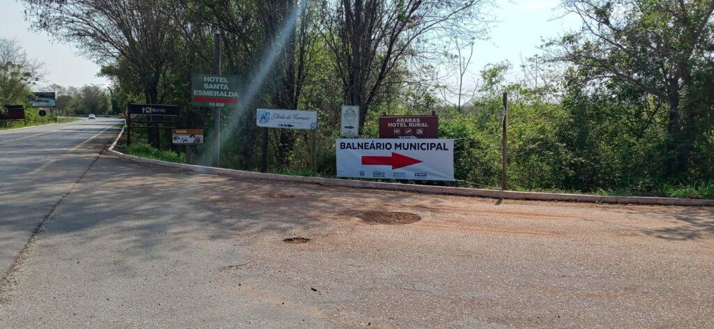 Pontes que dão acesso ao Balneário Municipal estão interditadas para obras de revitalização