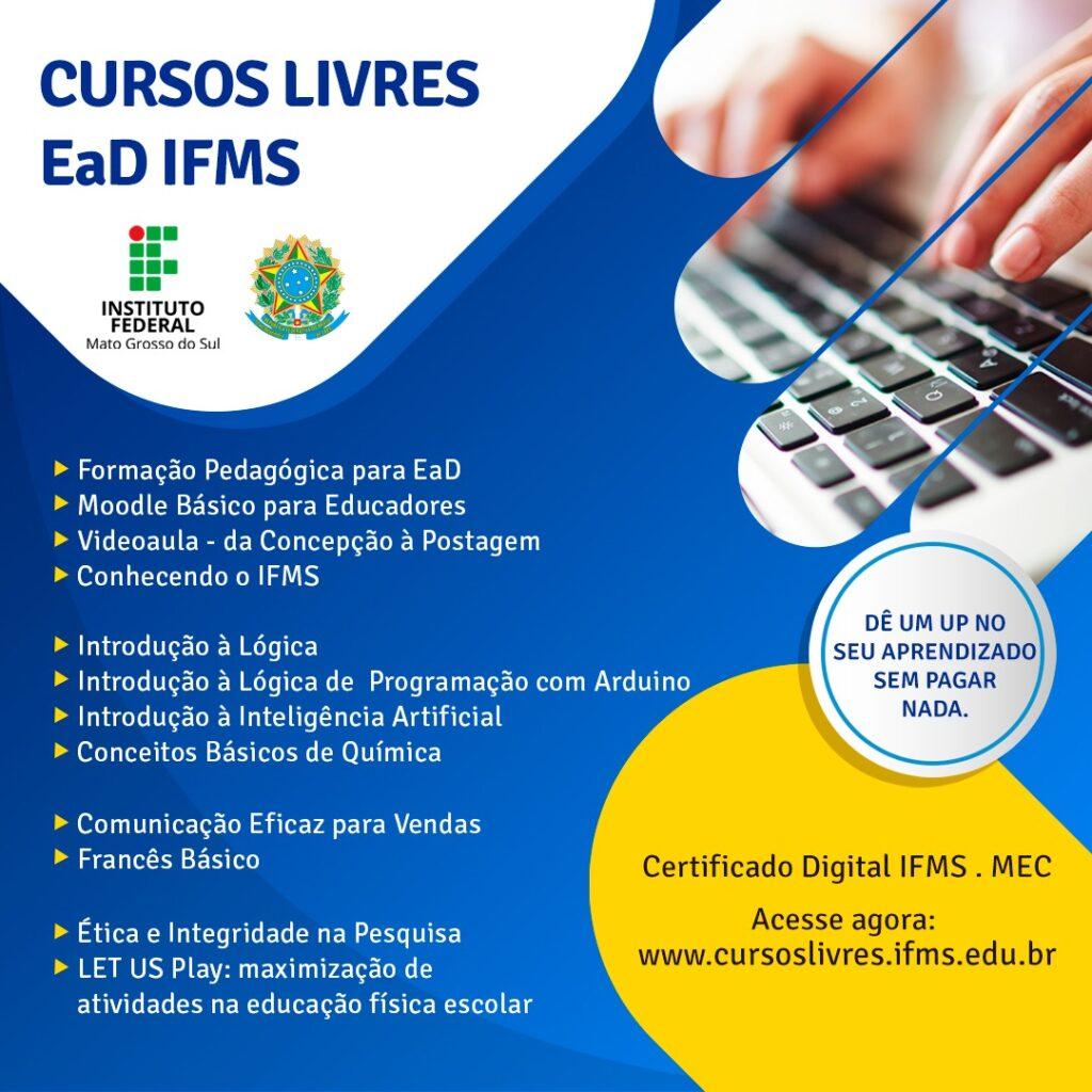Prefeitura de Bonito firma parceria com IFMS para realização de cursos técnicos para à população