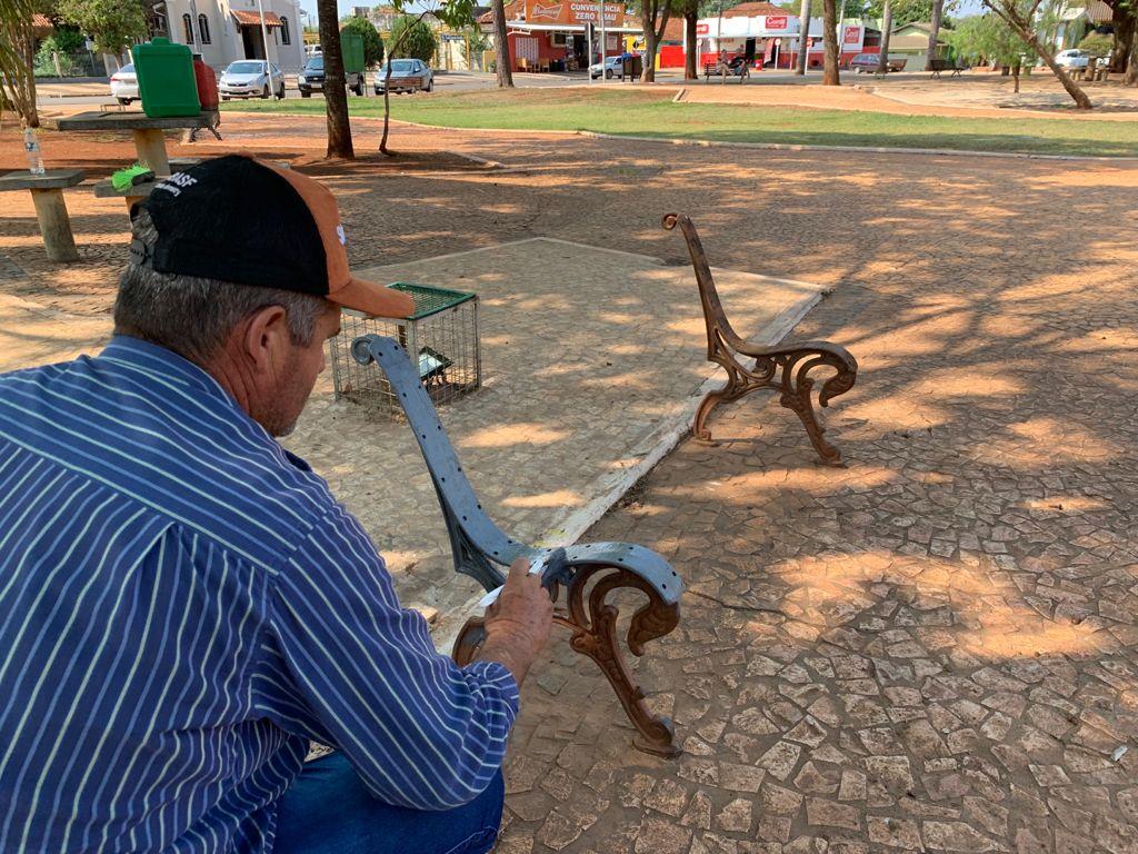 Prefeito de Bonito acompanha serviços de revitalização que serão entregues no aniversário da cidade
