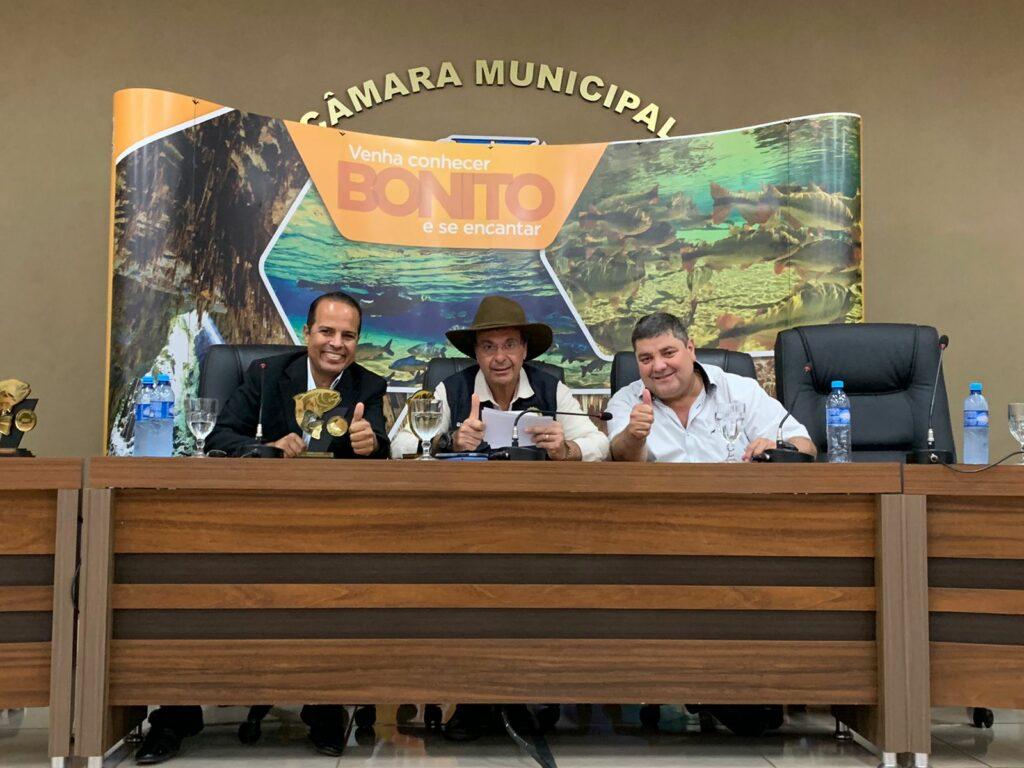 Ministro de Turismo, Gilson Machado Neto, visita Bonito