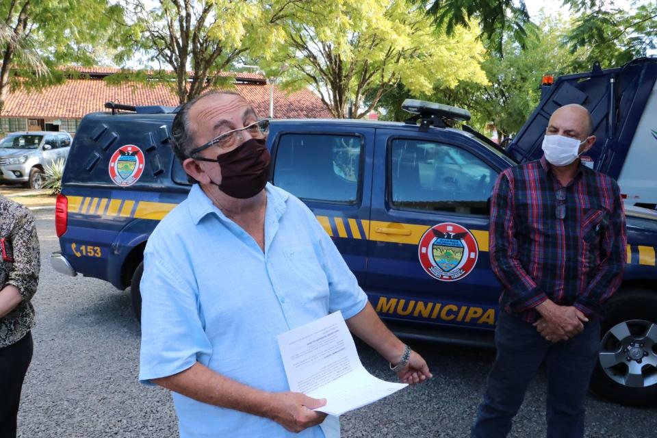 Entrega de cinco veículos é um marco para a Prefeitura de Bonito