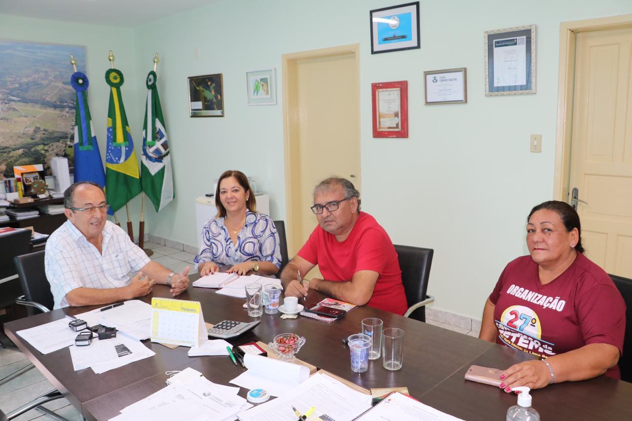 Reunião foi considerada positiva pelos participantes.Foto: Jabuti