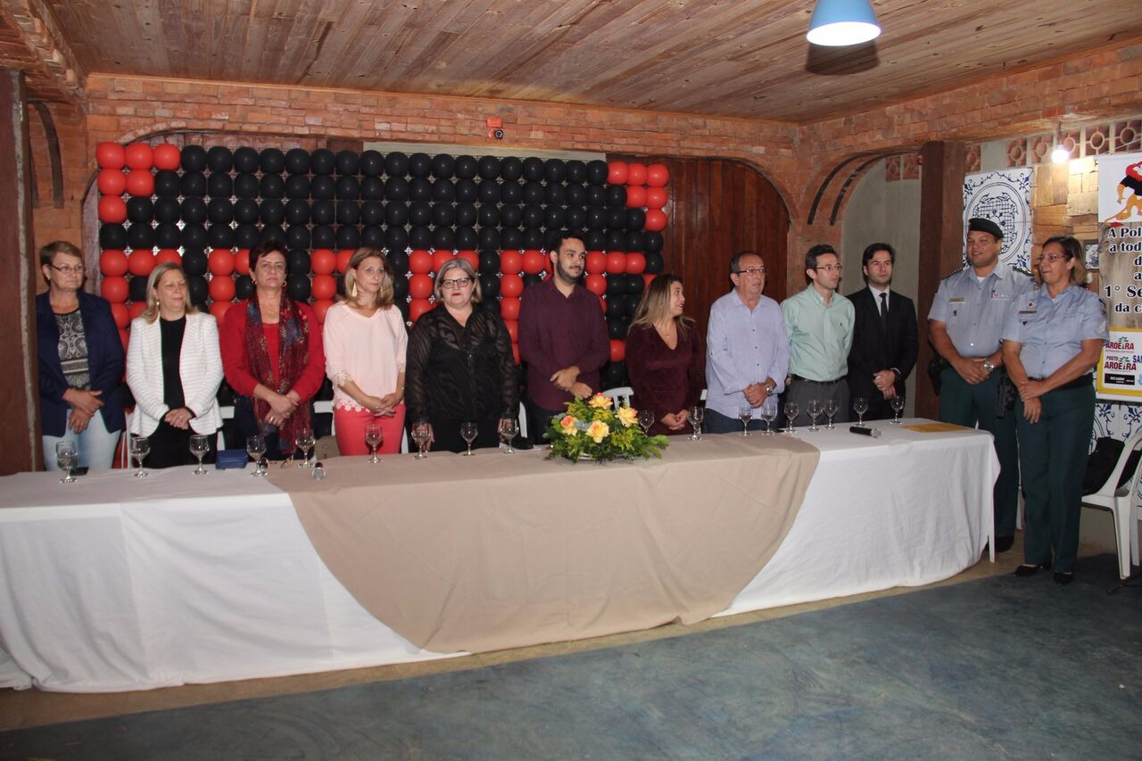 Prefeito municipal participa da formatura do PROERD