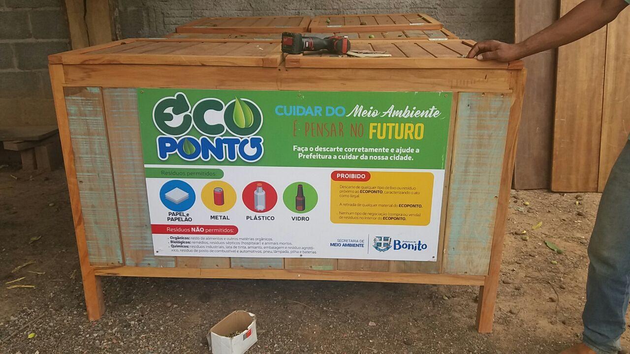 Secretaria de Meio Ambiente instala Ecopontos
