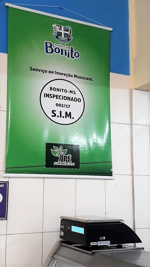 Banner atesta a fiscalização realizada pelo Departamento de Produção e Desenvolvimento Rural. Foto: Divulgação