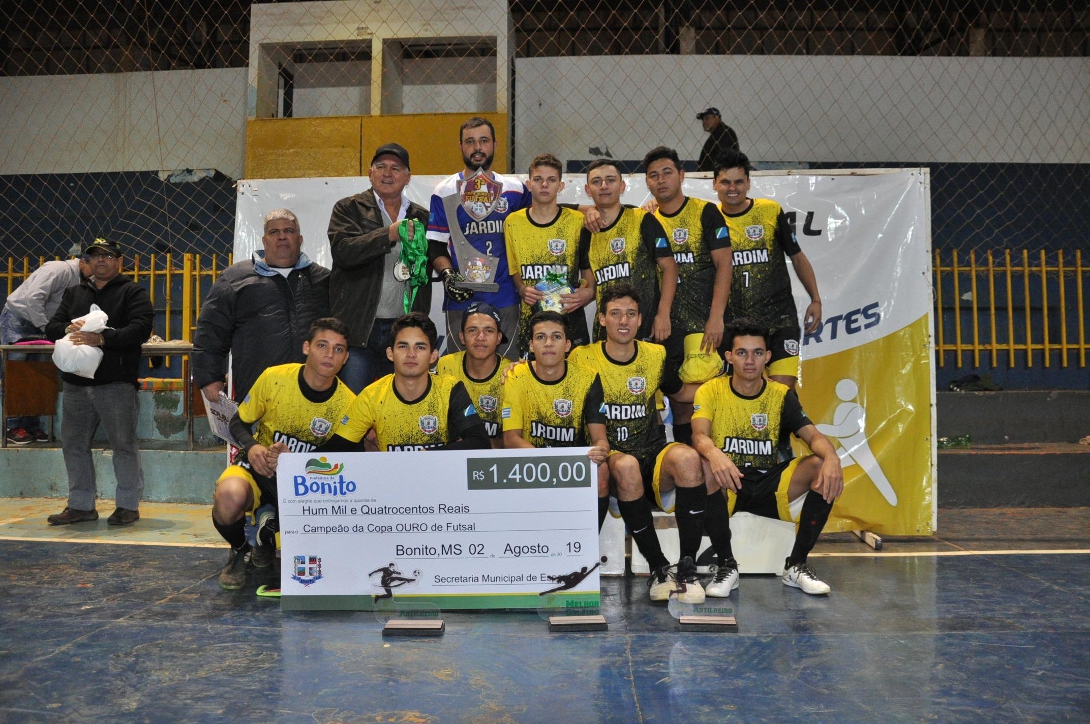 Equipe de Jardim, Campeões.