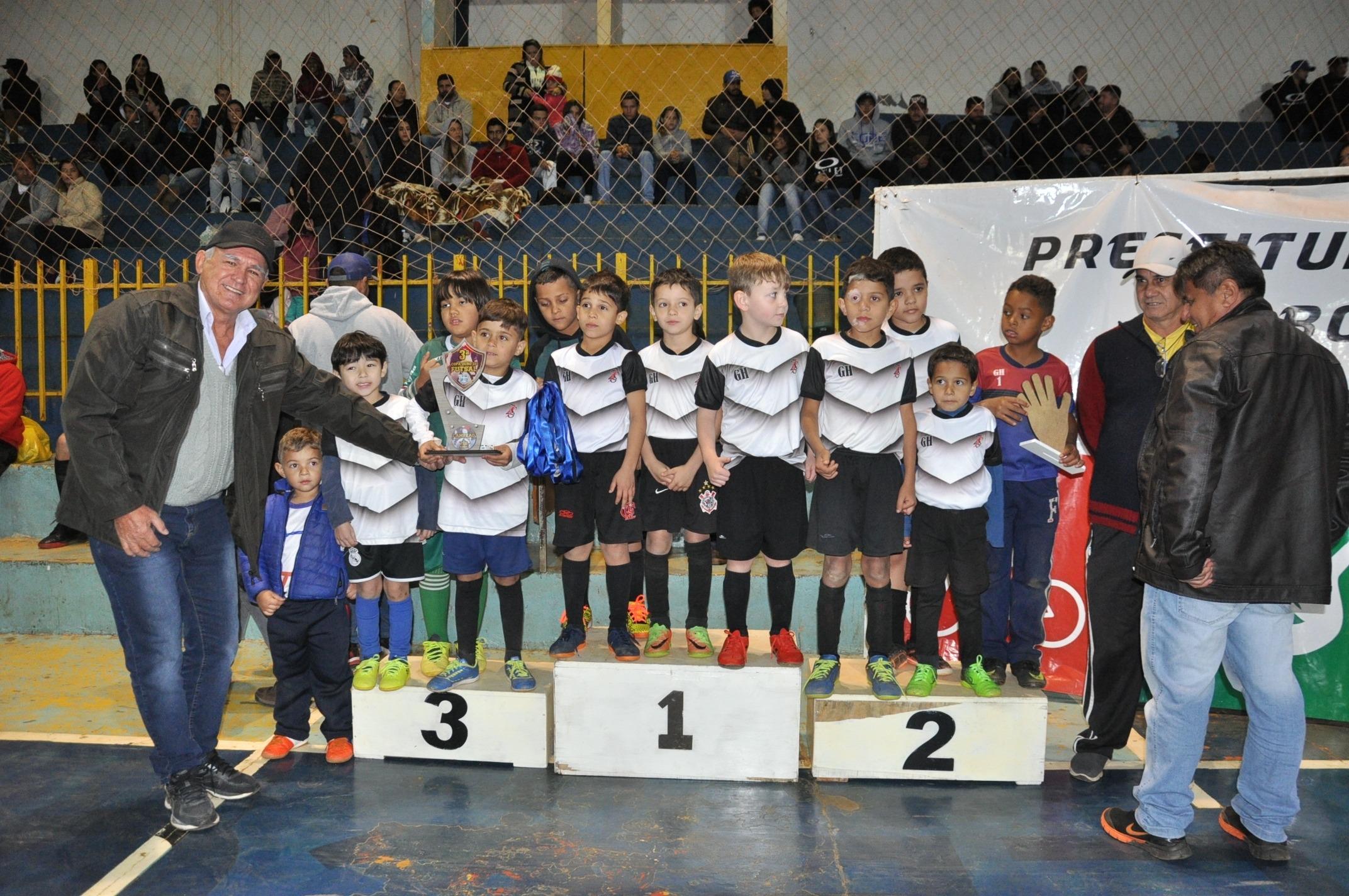 Campeões 7-8  anos Bodoquena.