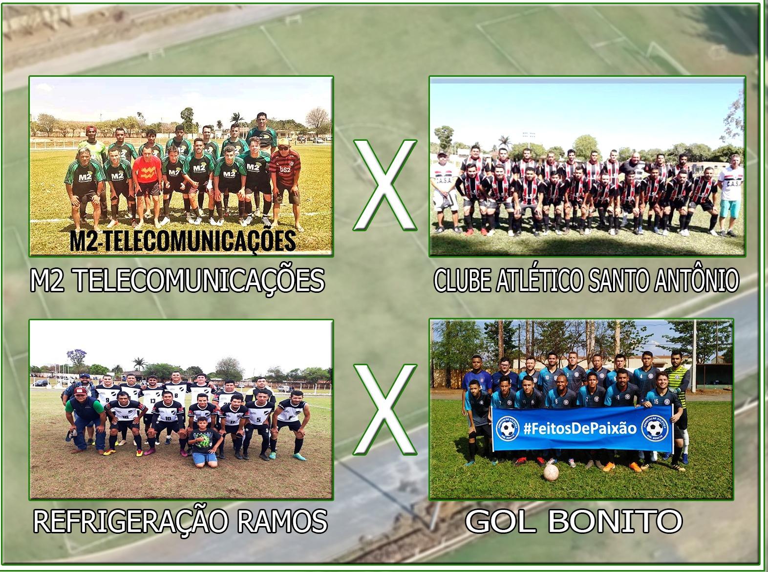 Semifinais do Campeonato Municipal 2019 acontecem neste domingo