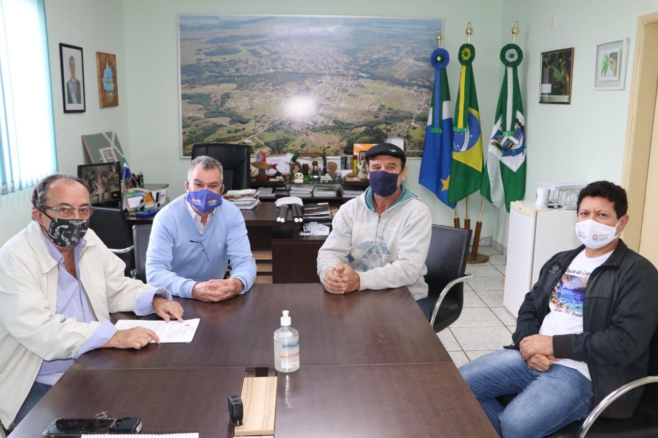 Presidente da AGTB se reuniu com o prefeito para agradecer pela iniciativa