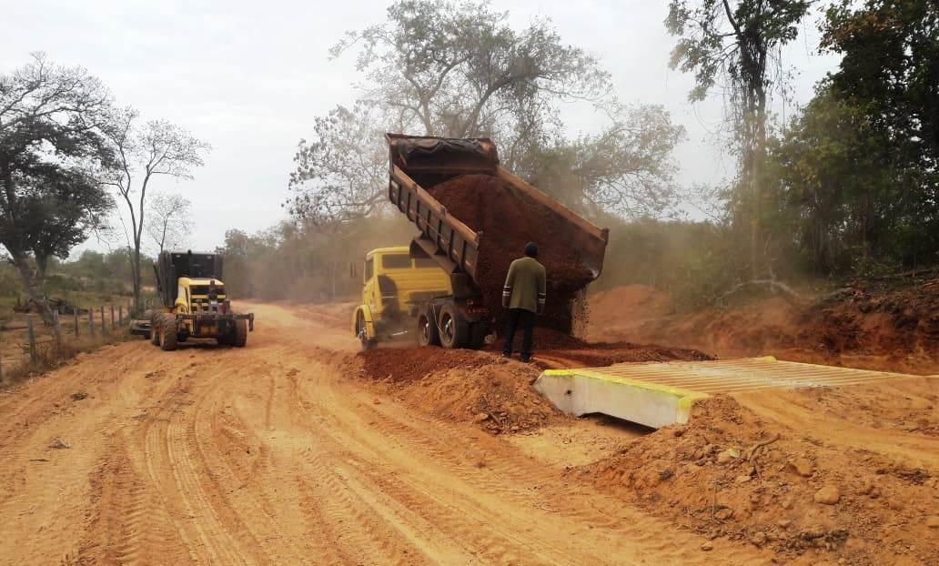 Obras realiza reparos na região do Pesqueiro do Noé